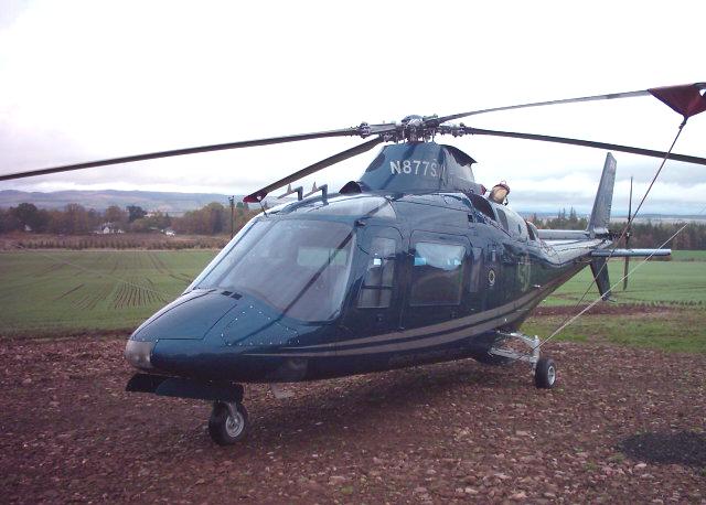 Agusta 109 helicopter mk ii 1983